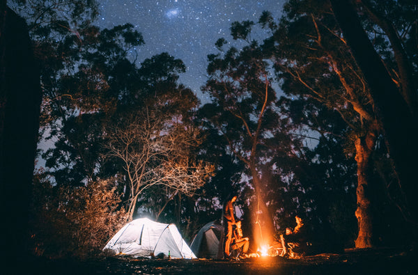 Fall Camping by Jonathan Forage