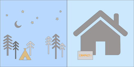 Step 3: Sleep under the stars.  Step 4: Pack up your CampKit.  We'll come pick it up from you when you're home.