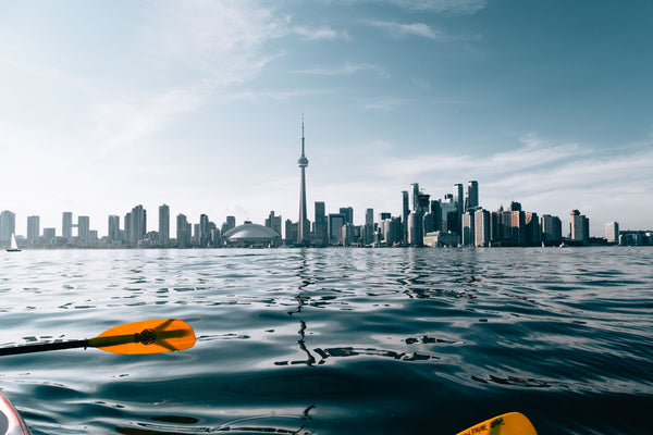 Paddling in Toronto by Mitul Shah