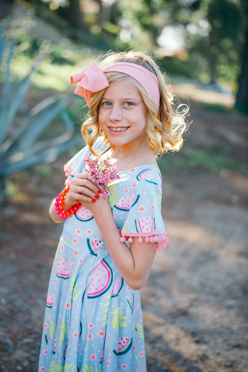 Watermelon Sugar Twirl Dress