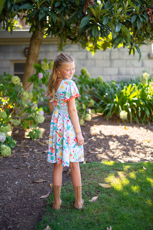 School Days Twirl Dress