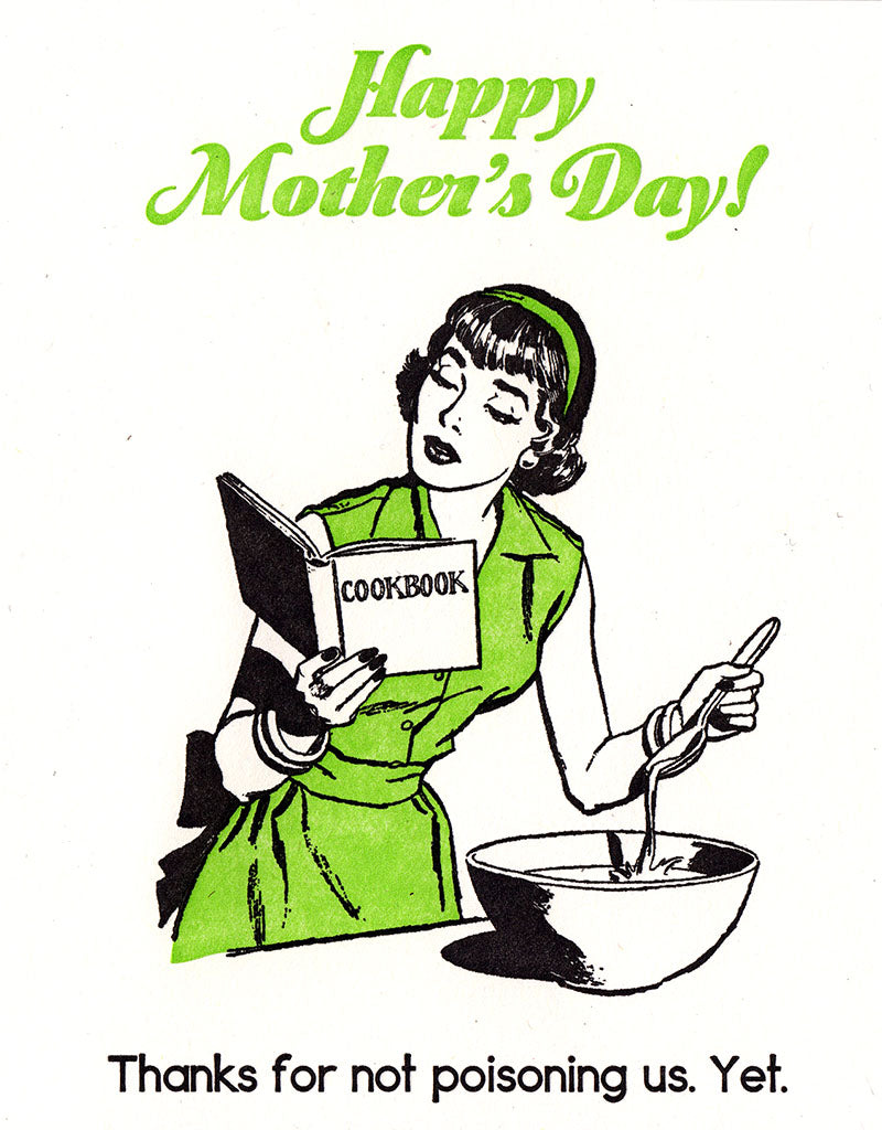Poison Mother's Day Card