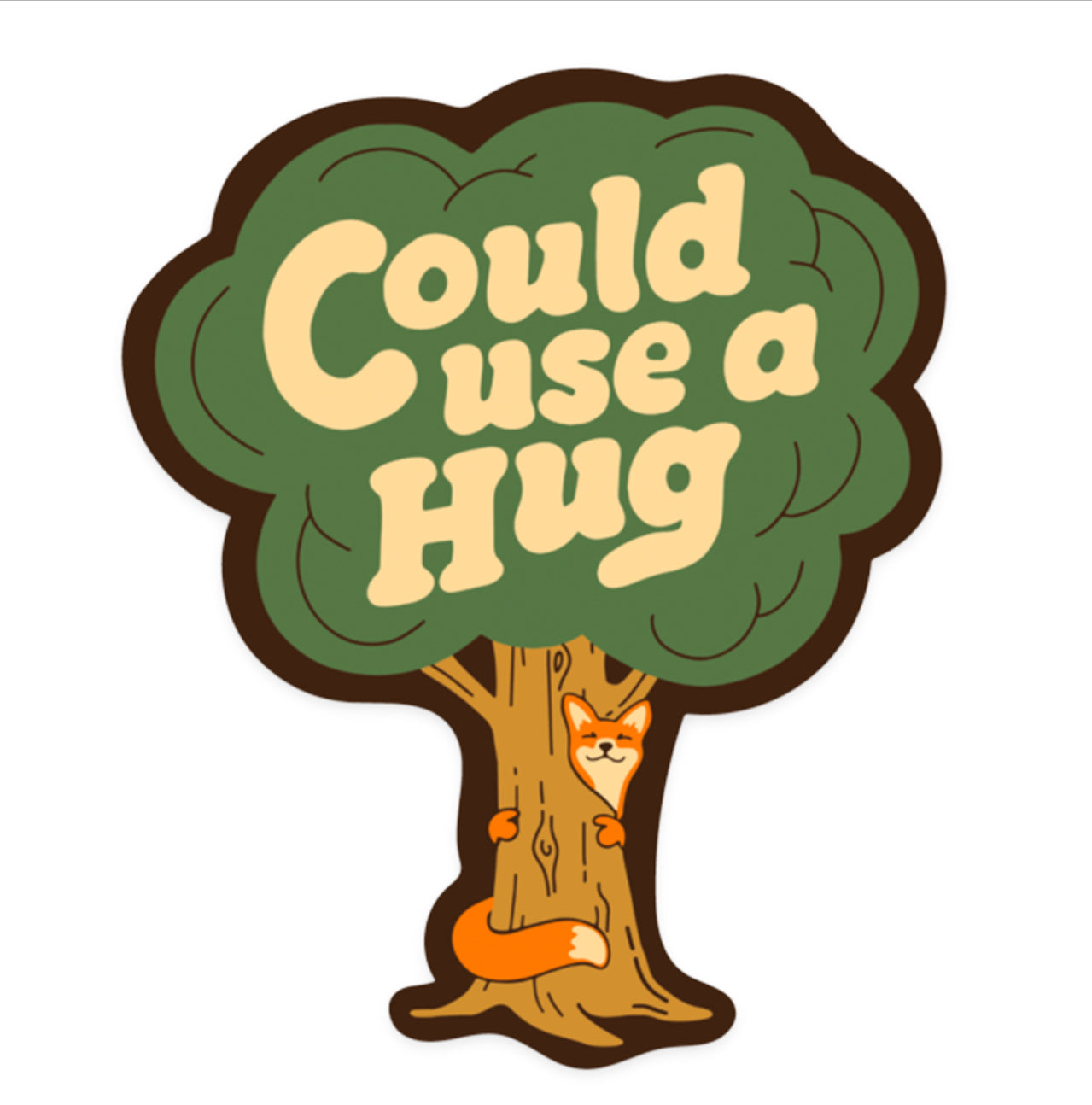 Could Use A Hug Sticker