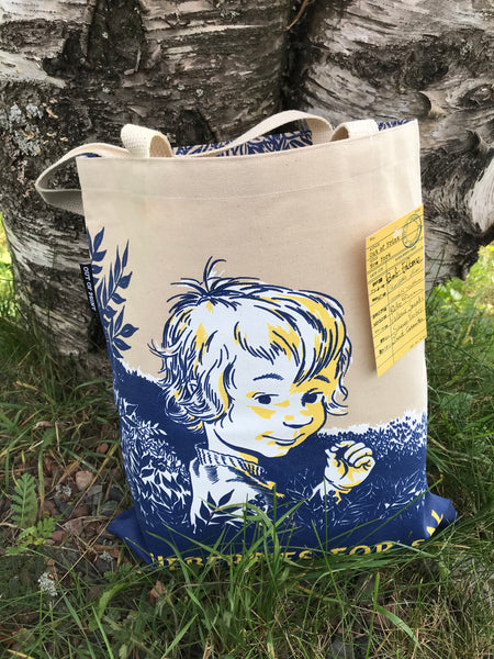 Blueberries For Sal Tote Bag