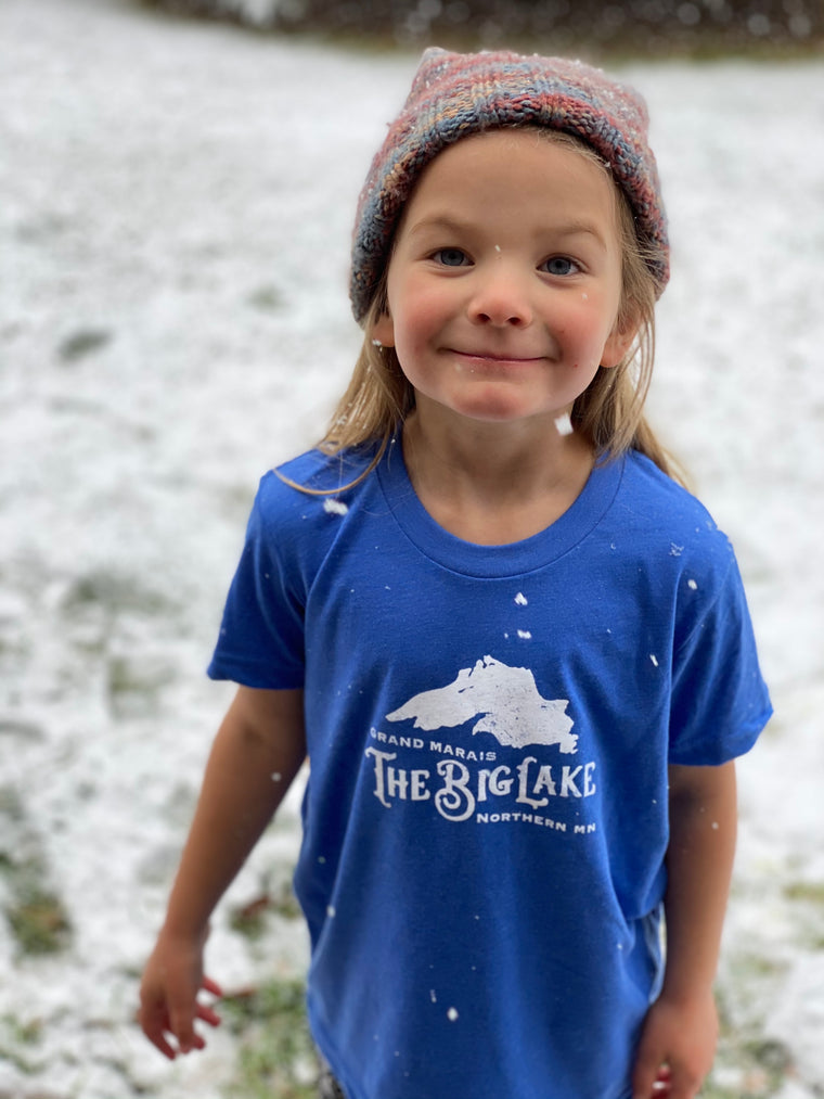 Blue | Big Lake T-Shirt Toddler & Youth Sized