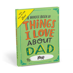 About Dad Fill in the Love® Book
