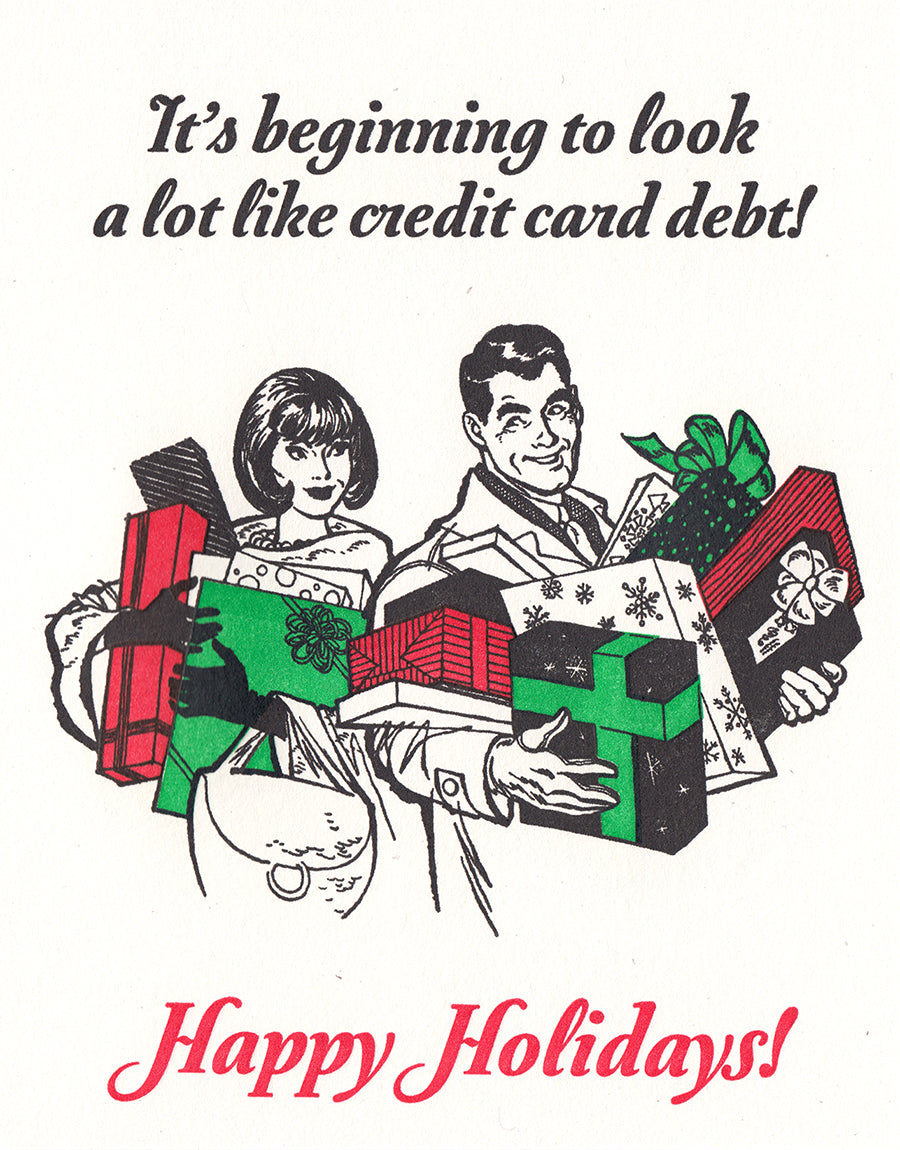 Holiday Debt Card
