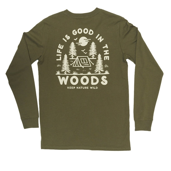 Good in the Woods Long Sleeve | Olive
