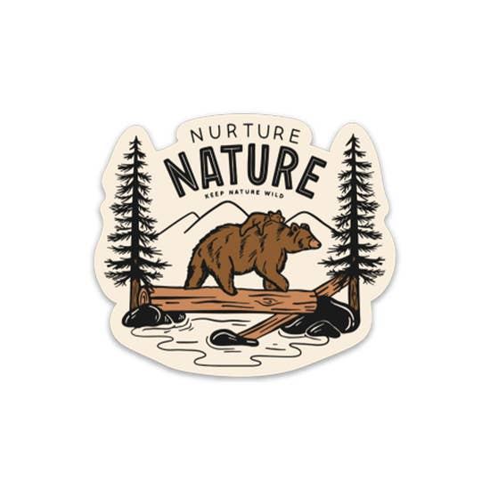 Keep Nature Wild Stickers