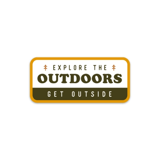 Explore the Outdoors | Sticker