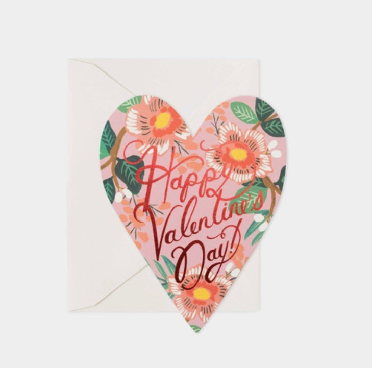 Heart Blossom Valentine's Day Card