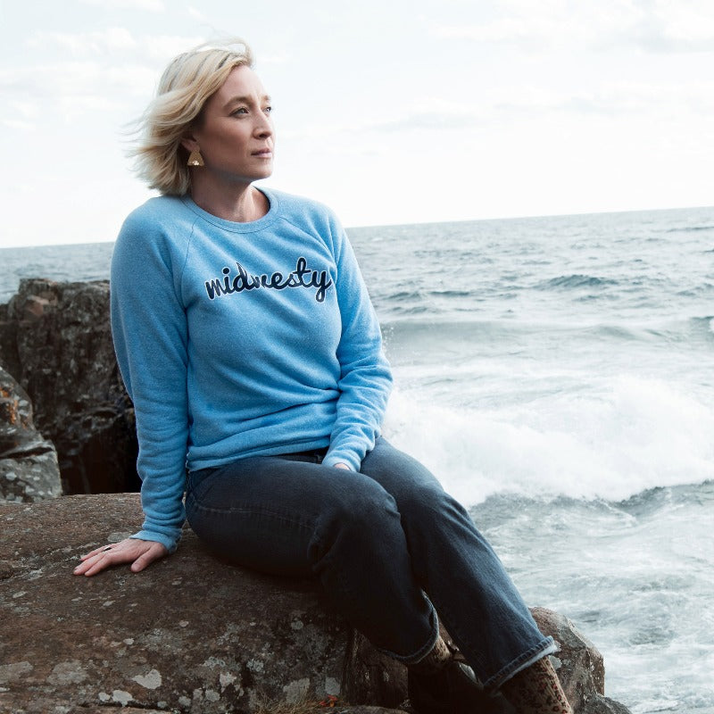 Midwesty Blue | Copper Falls Crewneck Sweatshirt