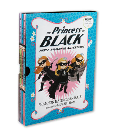 The Princess in Black: Three Smashing Adventures (1-3)