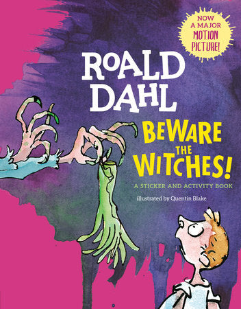 Beware the Witches! A Sticker and Activity Book