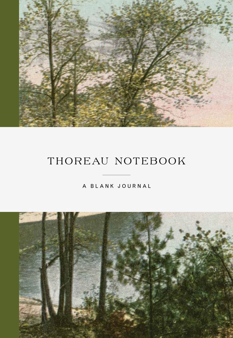 Thoreau Notebook: Blank Journal