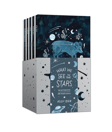 12 Zodiac Notebook Set: What We See in the Stars