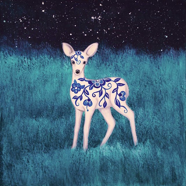 """Fawn In The Field"""