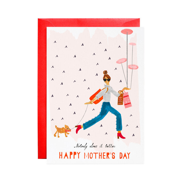 Dinner by Six Mother's Day Card