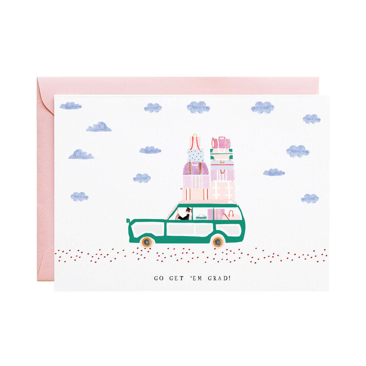 Driving to Oz - Graduation Card