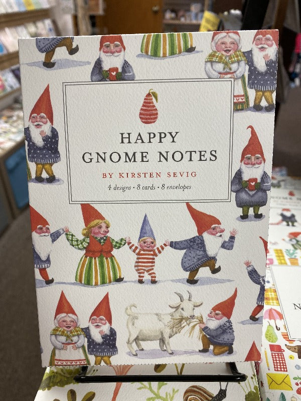 Happy Gnome Notecard Pack