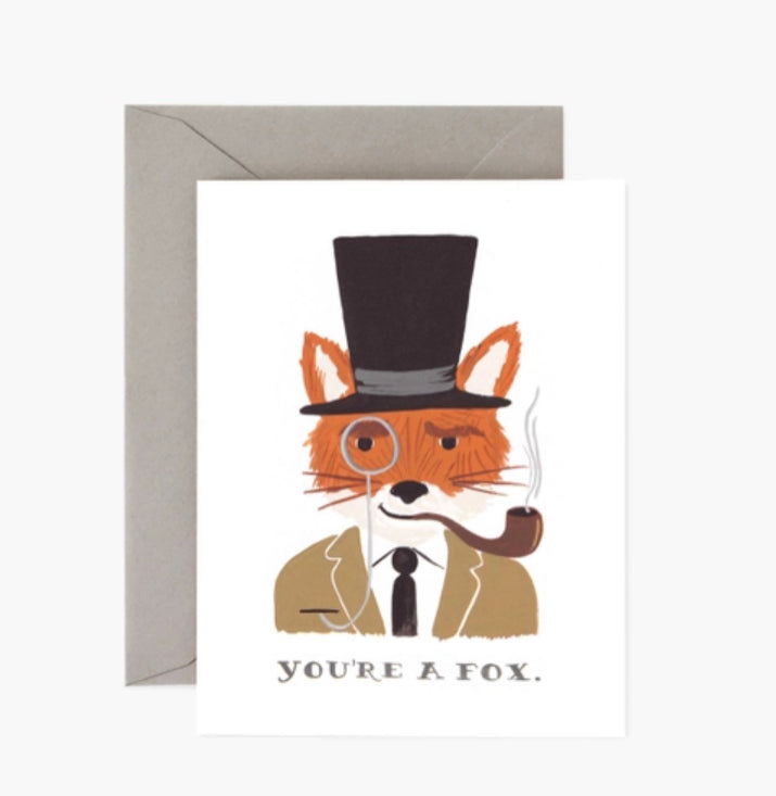 You're A Fox Card (Love)