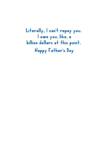 Never Repay You Father's Day