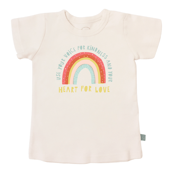 kindness rainbow tee