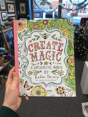 Creat Magic - A Coloring Book by Katie Daisy