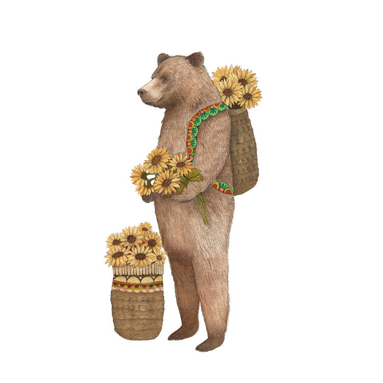 Flower Messenger: The Bear Print