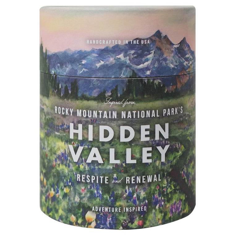 Rocky Mountain National Park's Hidden Valley Candle