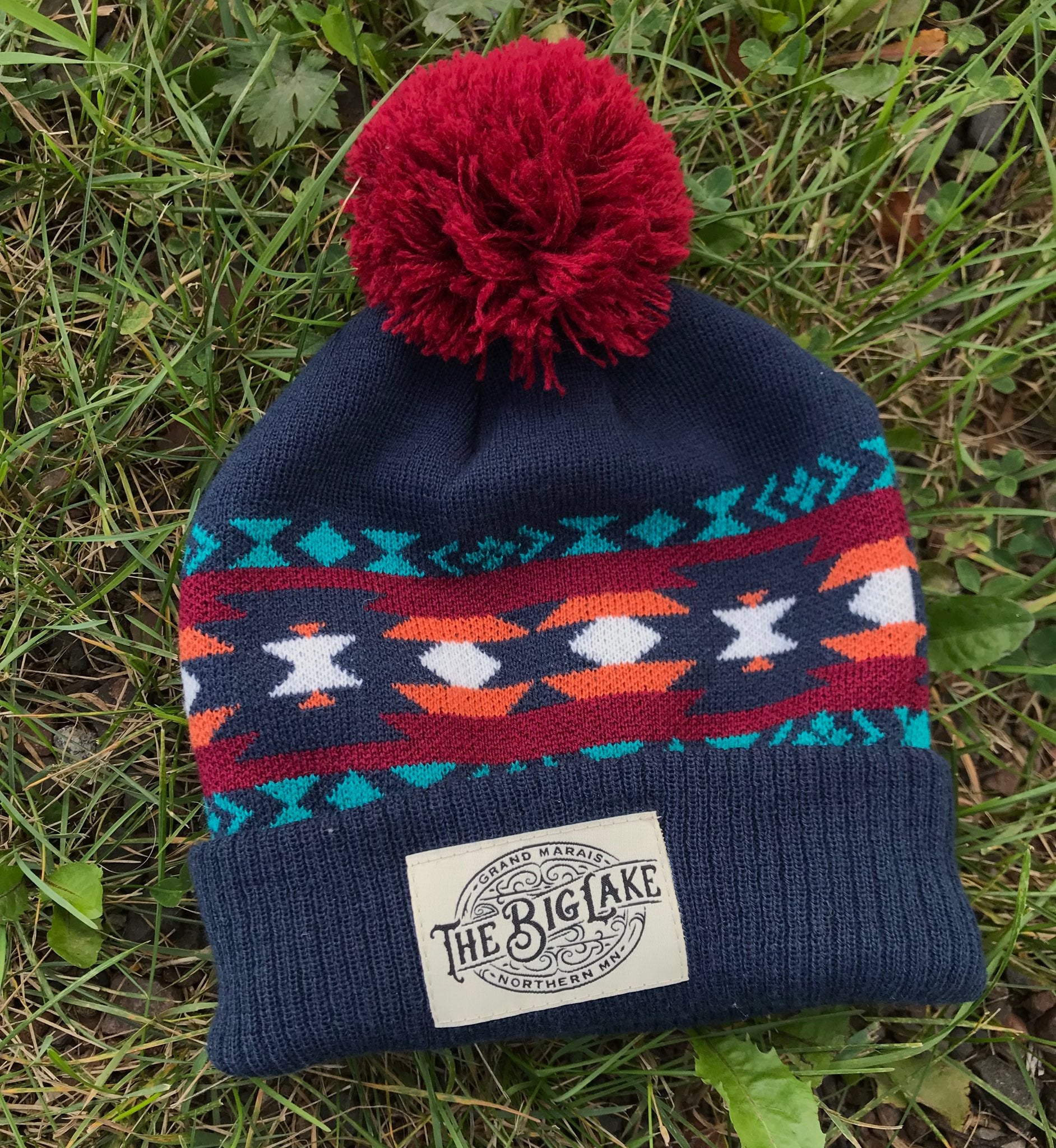 Big Lake Pom Beanie