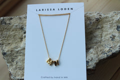 MN State Necklace | Silver Rhodium or 24K Gold Plated
