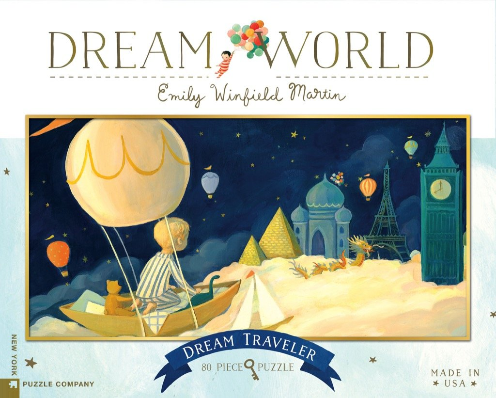 Dream Traveler: 80 Piece Puzzle
