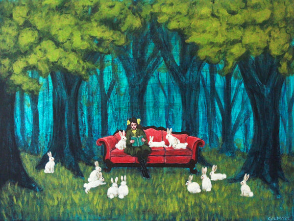Reading With Rabbits