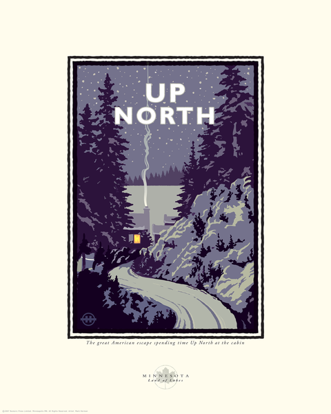 """MN Up North"" by Mark Herman"