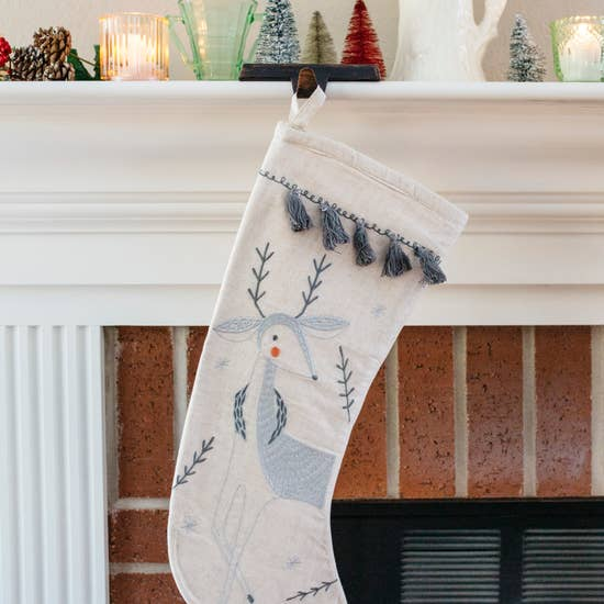 Merriment Deer Stocking