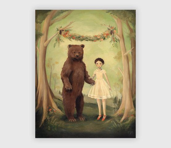 In the Spring, She Married a Bear