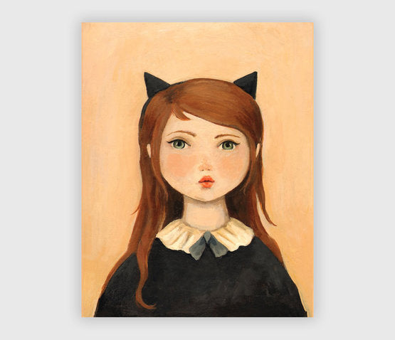 Portrait with Cat Ears