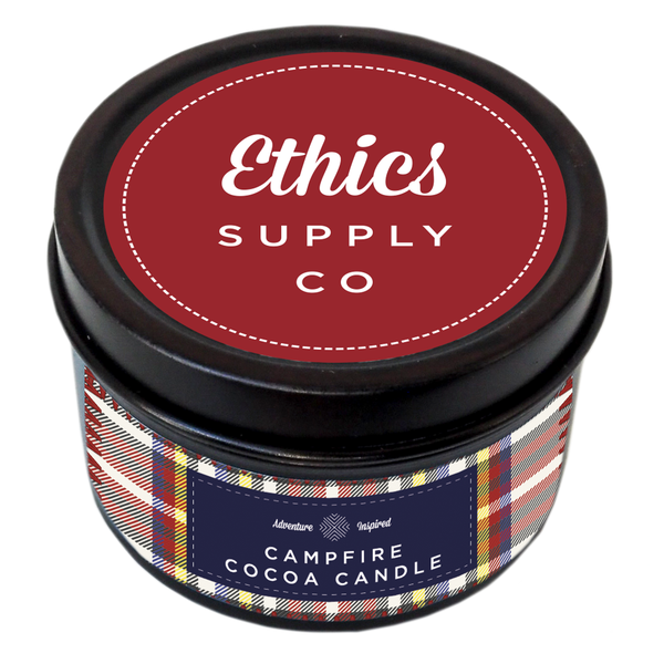 Campfire Cocoa Travel Candle