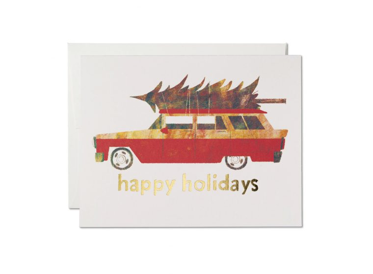 Holiday Chevy Boxed & Single Cards