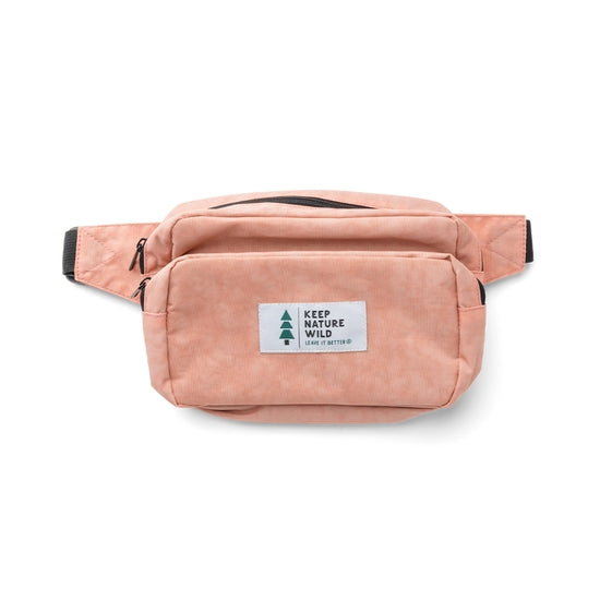 Keep Nature Wild Fanny Pack | Blush