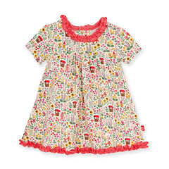 Gnome Sweet Gnome Toddler Dress