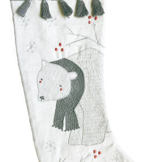 Merriment Bear Stocking