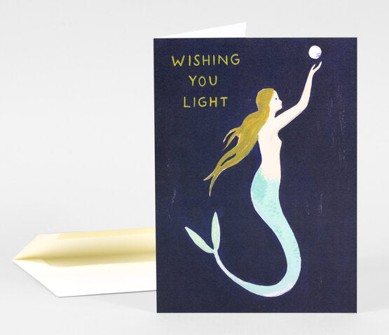 Wishing You Light Holiday Card