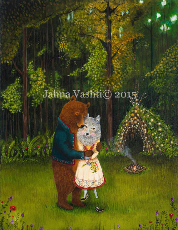 """Swept Off Her Feet"" by Jahna Vashti"