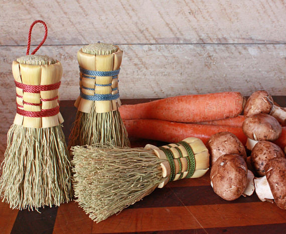 Broomcorn  Vegetable Scrubber
