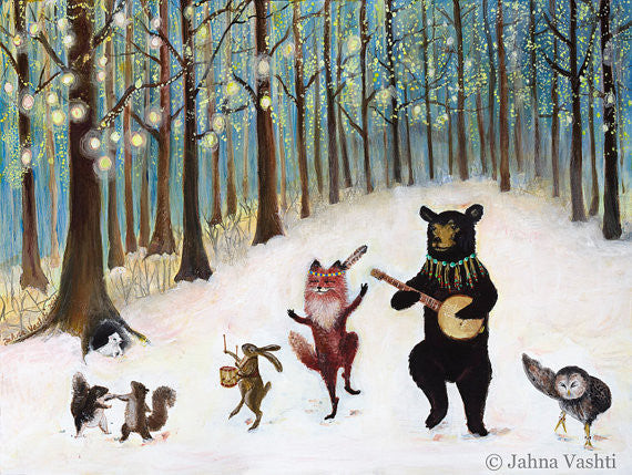 """Forest Festivities"" by Jahna Vashti"