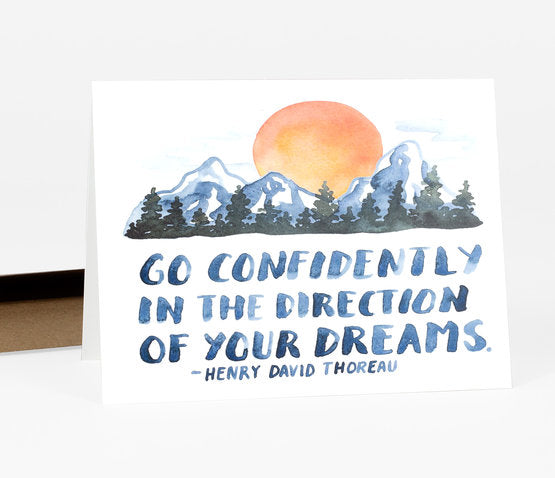 Go Confidently Card