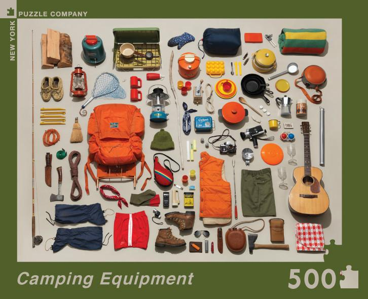 Camping Equipment: 500 Piece Puzzle