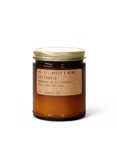 NO. 11: Amber & Moss - 7.2 oz Soy Candle